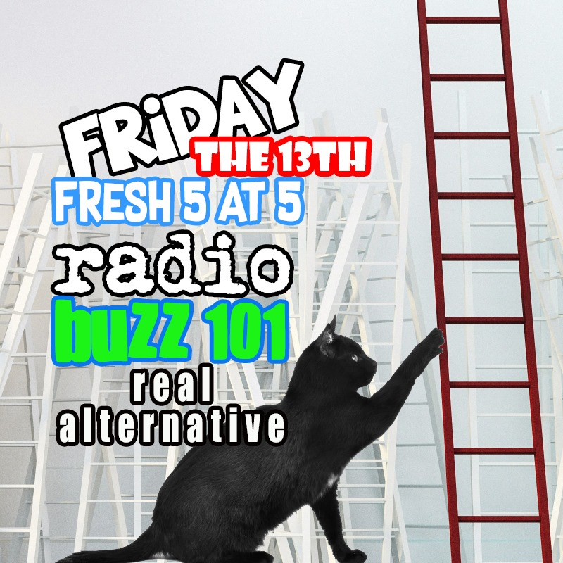 #Friday13th Fresh 5 at 5 #NewMusicNow #FiveNewSongs with DJ Dave