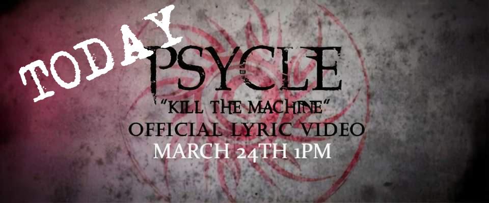 Today at noon EST #ProvidenceRI Rockers Psycle let us premiere